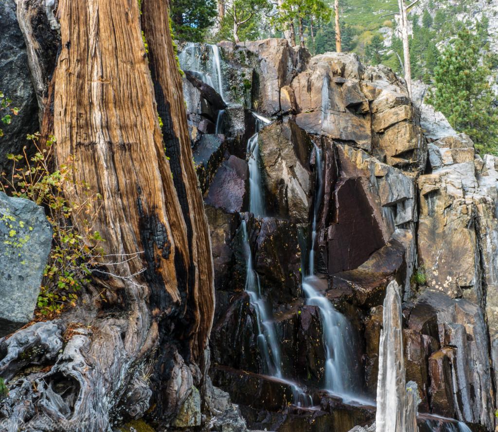 The trickle of Lower Eagle Falls in October