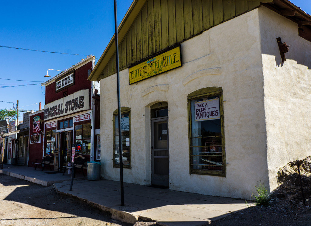 Randsburg Post Office from 1930's to 1980's
