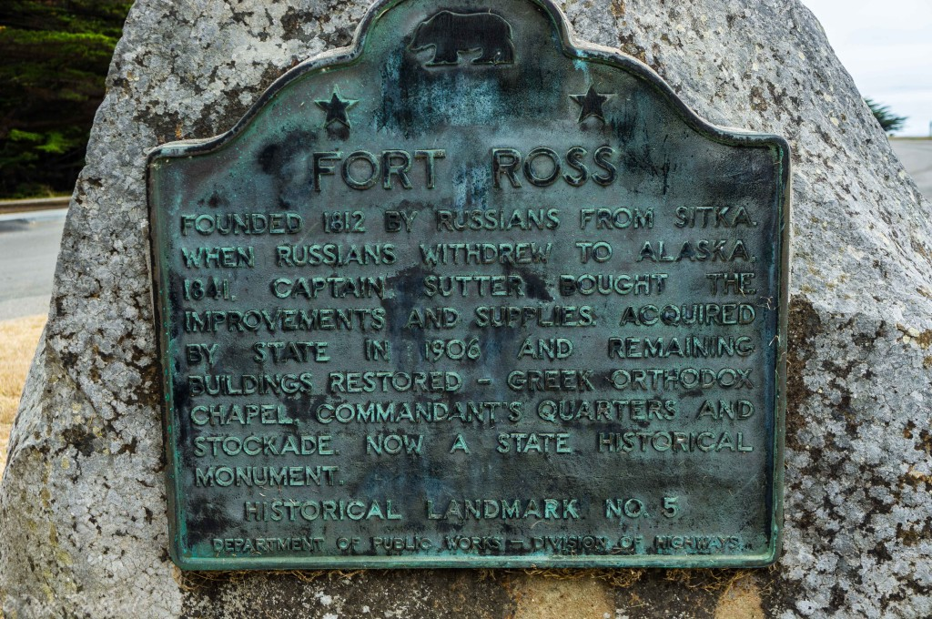 fort ross historical marker (1 of 1)