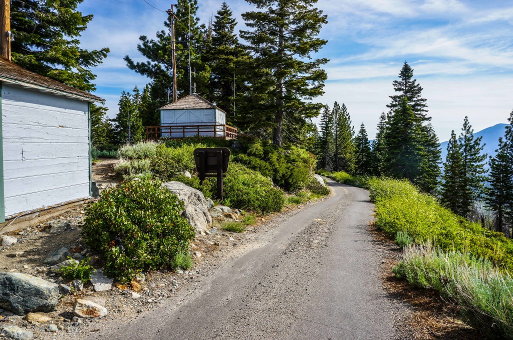 Angora Fire Lookout and Angora Ridge Rd.