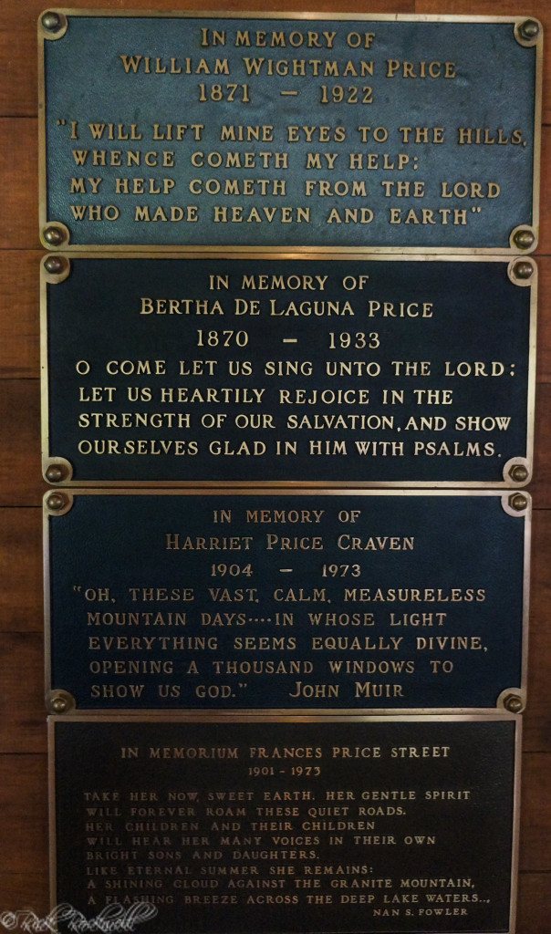 st francis chapel price plaques (1 of 1)