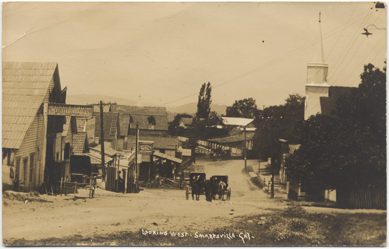Smartsville early 1900s - Credit: California State Library
