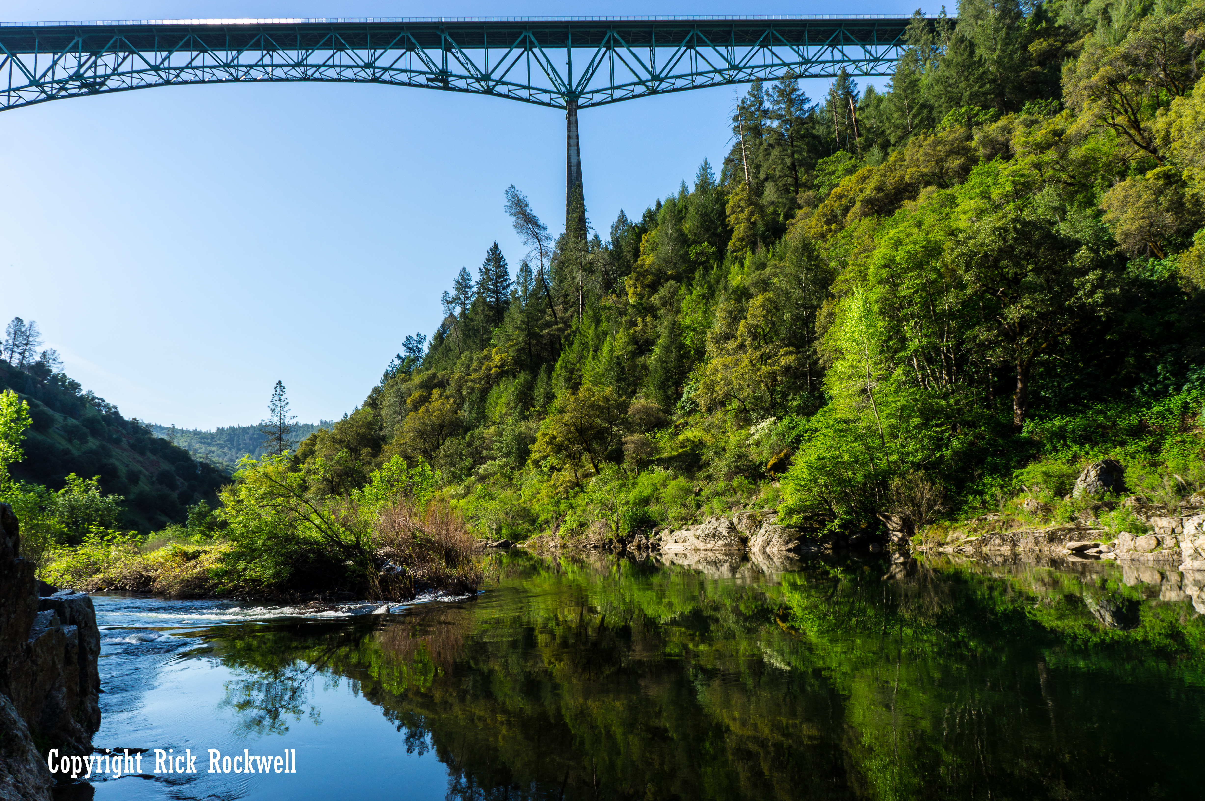 Photo of Foresthill Bridge: soaring over the American River