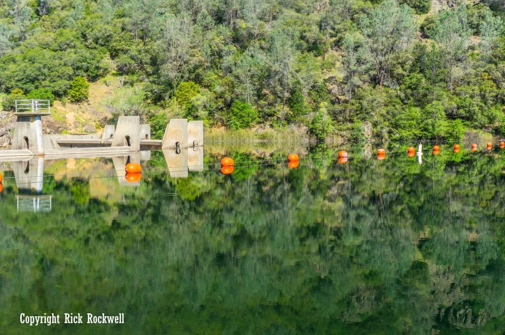 Beautiful reflection off Lake Clementine