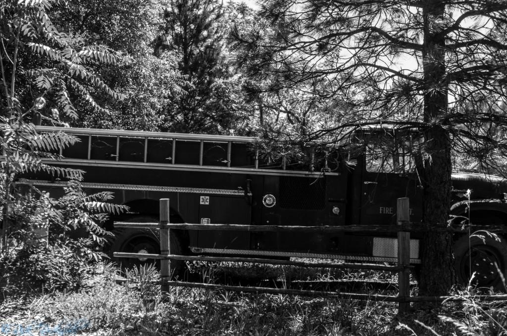 Iowa Hill firetruck
