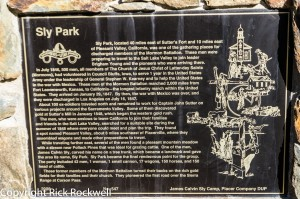 Sly Park Monument