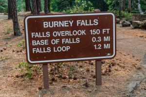 burney falls sign (1 of 1)