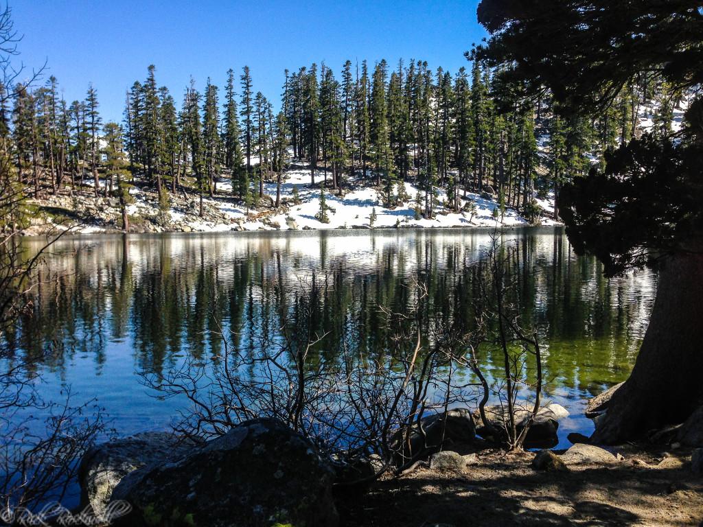 Granite Lake on the back