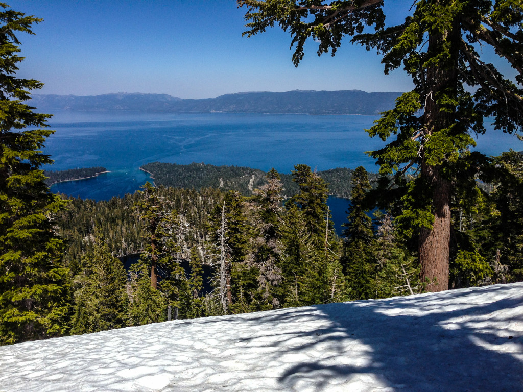 Lake Tahoe, Emerald Bay, Granite Lake and Cascade Lake
