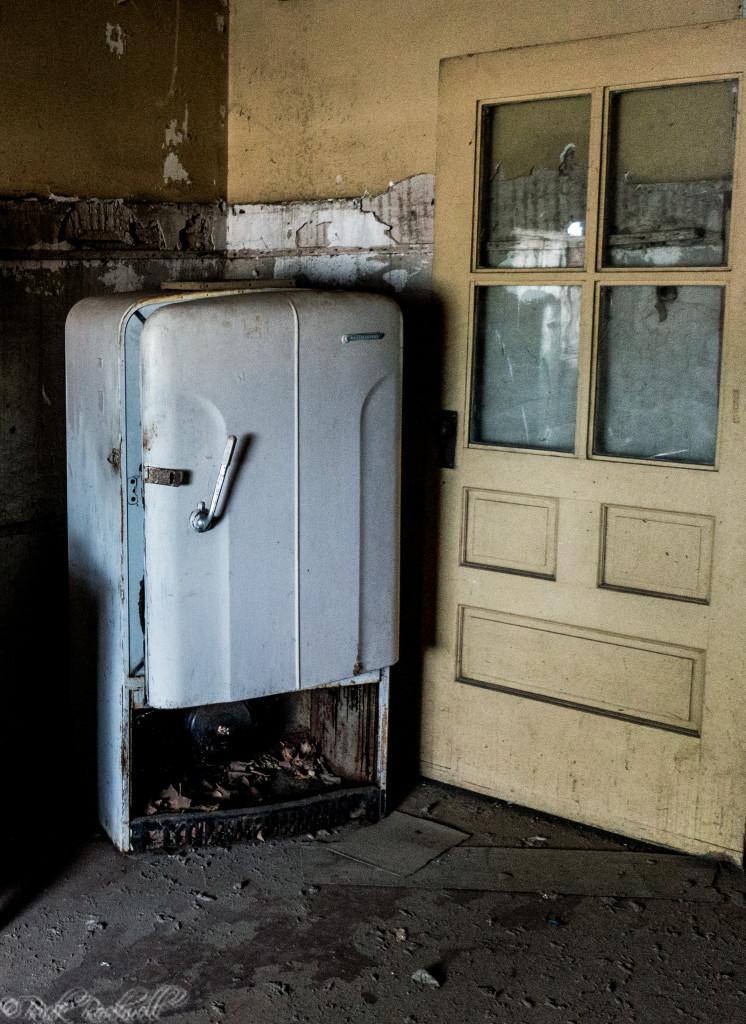 preston castle kitchen fridge (1 of 1)