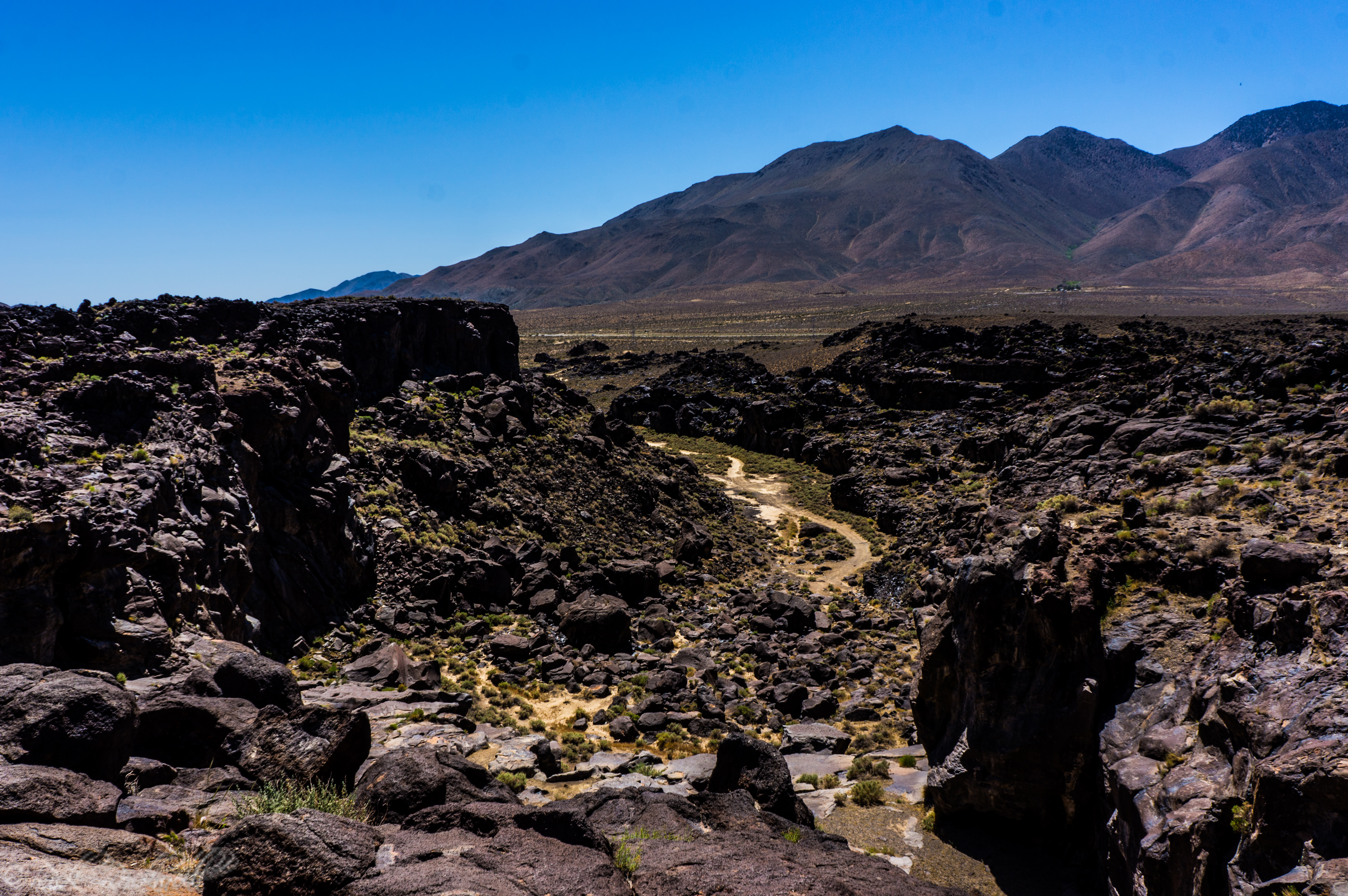 Photo of Fossil Falls: no fossils or waterfalls, just plenty of adventure