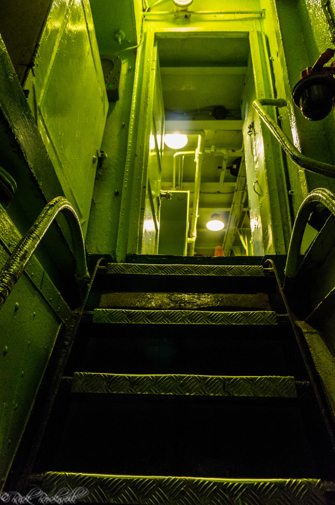 uss lcs 102 stairs down below (1 of 1)