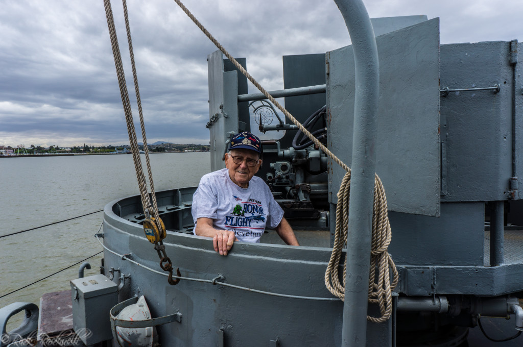 uss lcs 102 ww2 vet Jim (1 of 1)