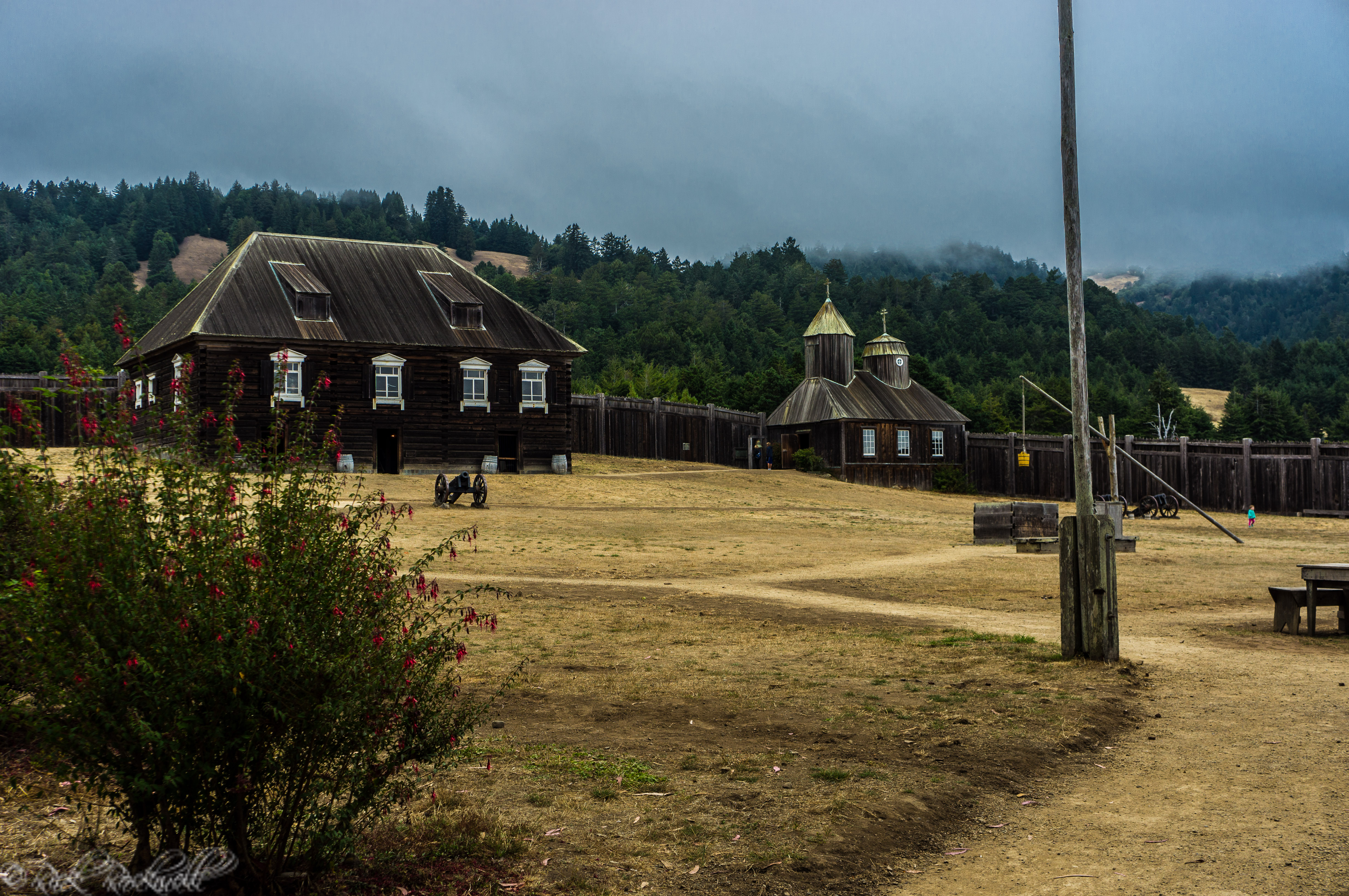 Photo of Fort Ross: a multicultural historic landmark along the Pacific Coast