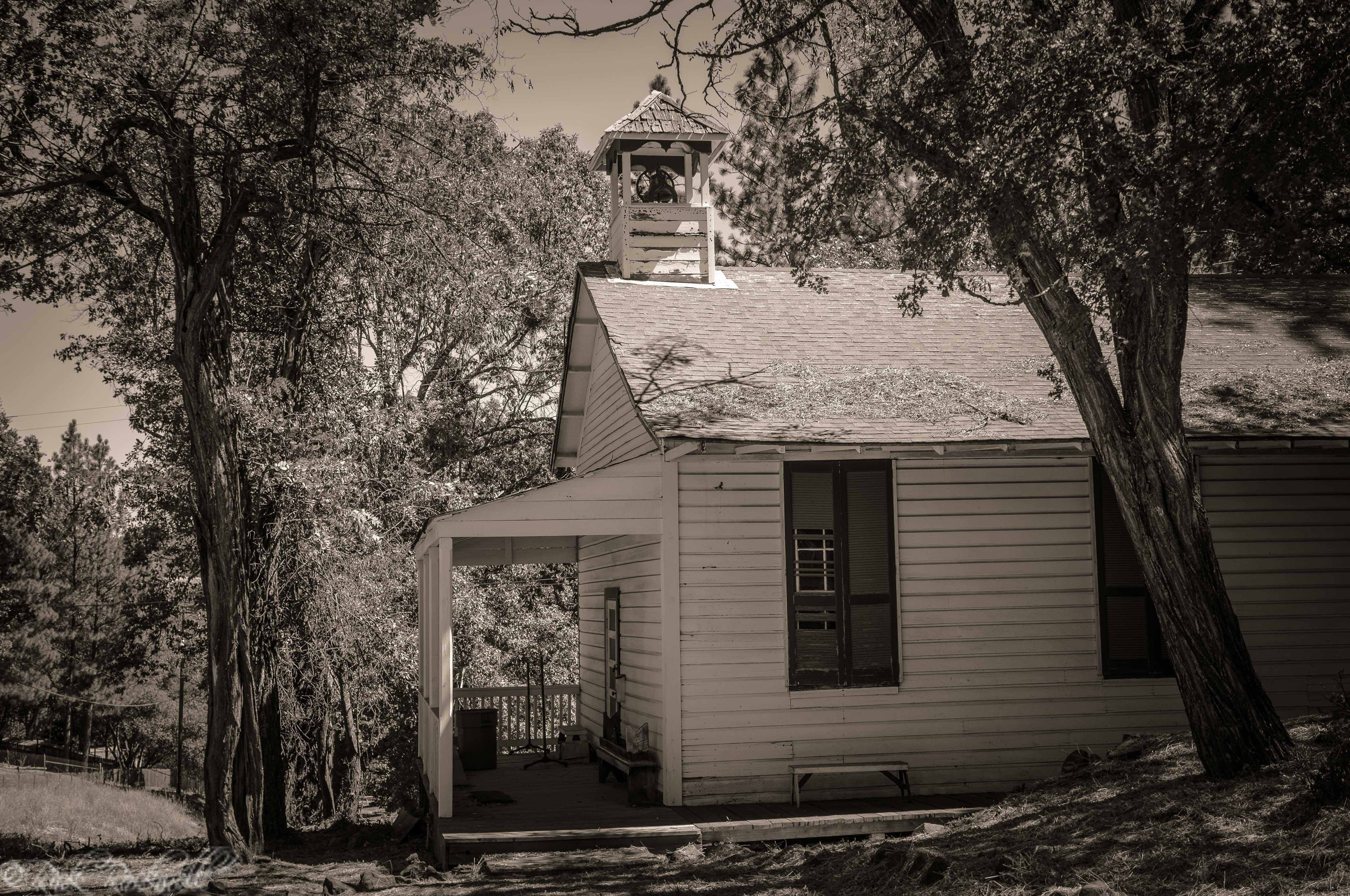 Photo of The Historic Oleta Schoolhouse of Fiddletown