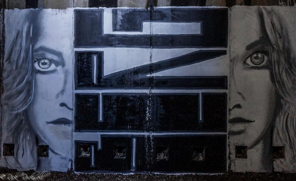 Sample of Graffiti found in Tunnel #8