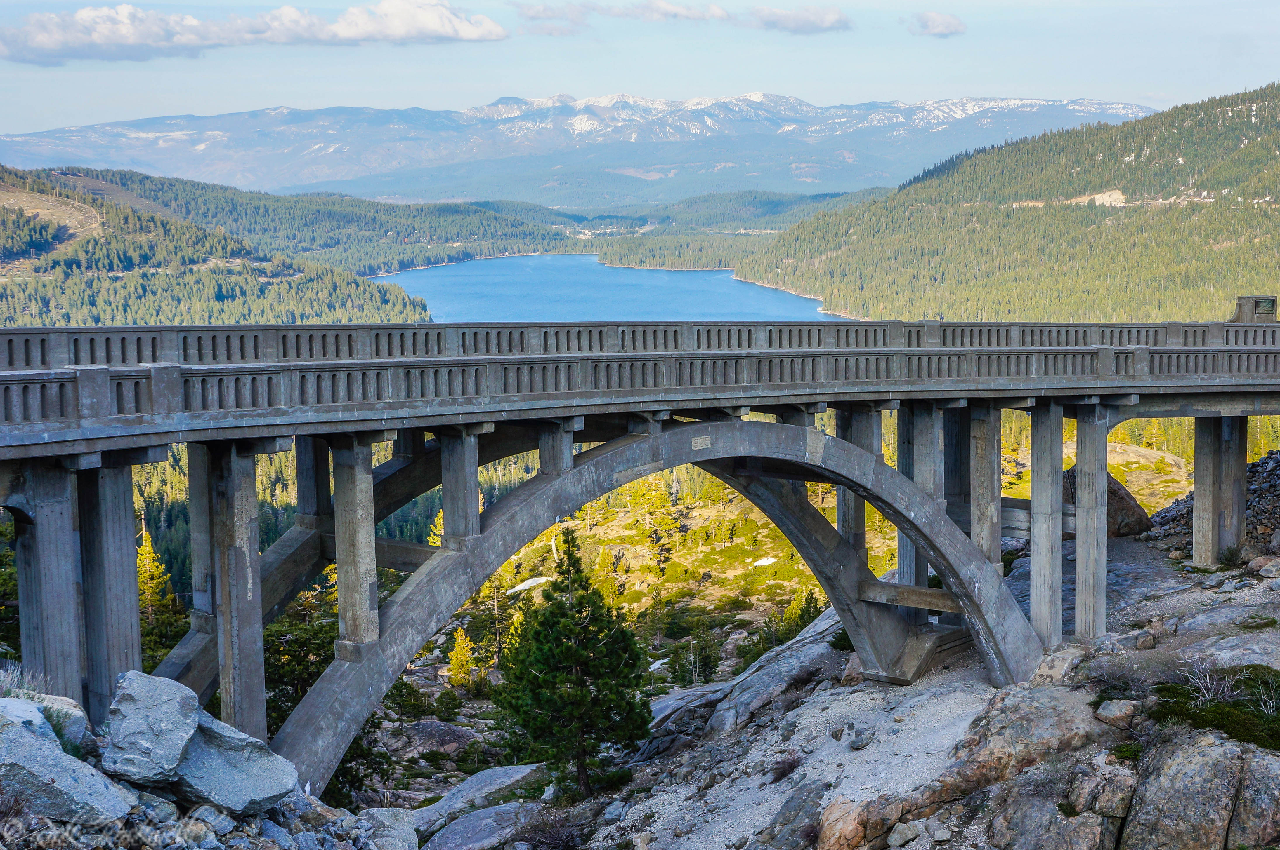Photo of Donner Summit Bridge: California's historical Rainbow Bridge