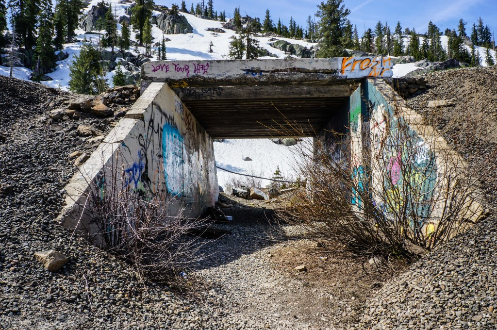 The Old Lincoln Highway underpass