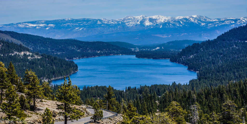 Donner Lake from Donner Summit