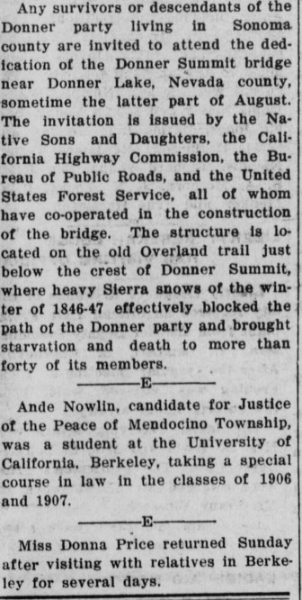 donner summit article
