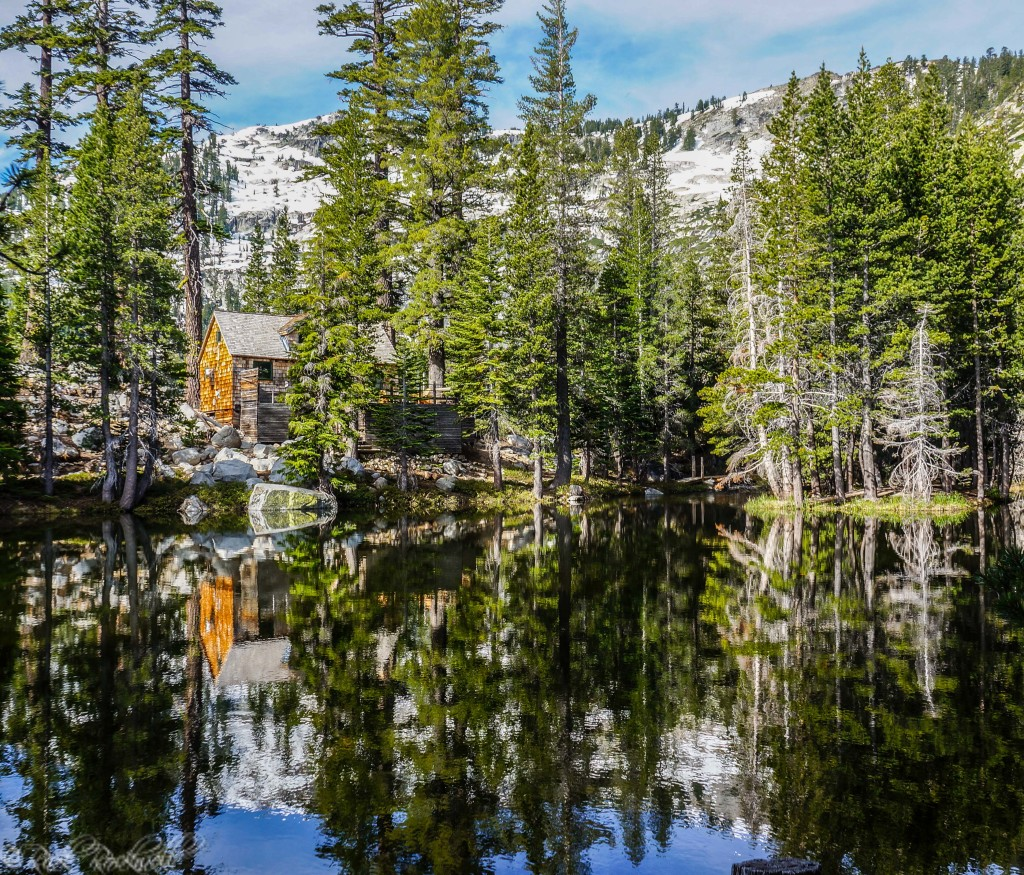 Lower Angora Lake cabin