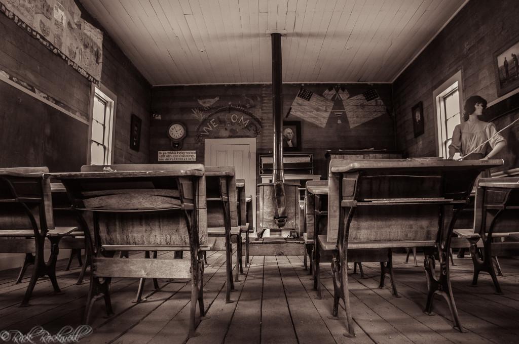 markleeville schoolhouse inside 2 (1 of 1)