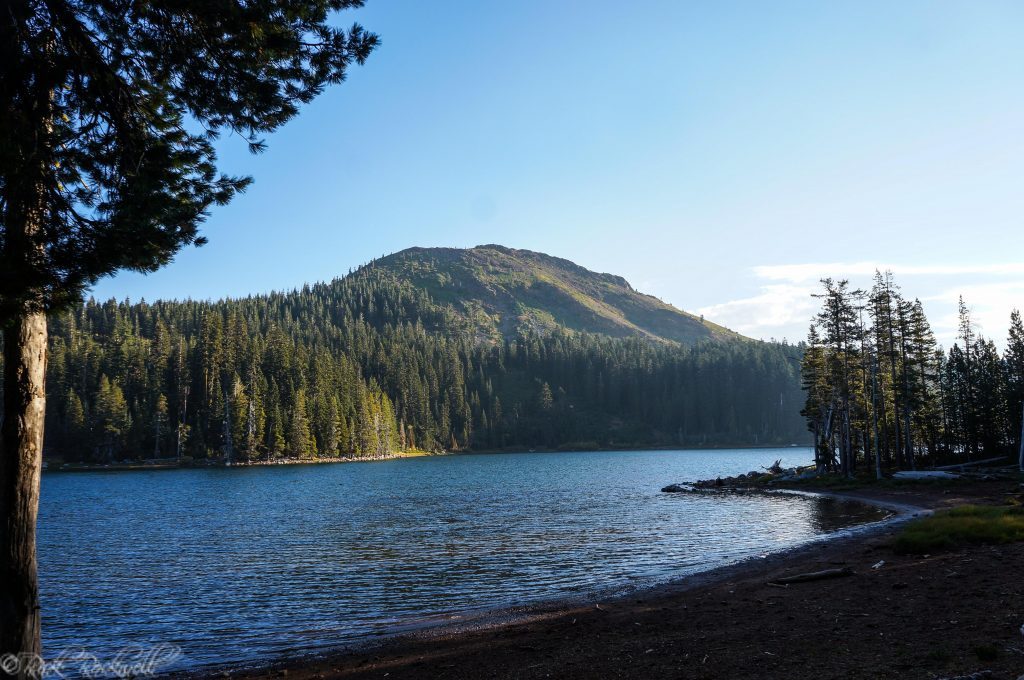 Feeley lake and Fall Creek Mountain