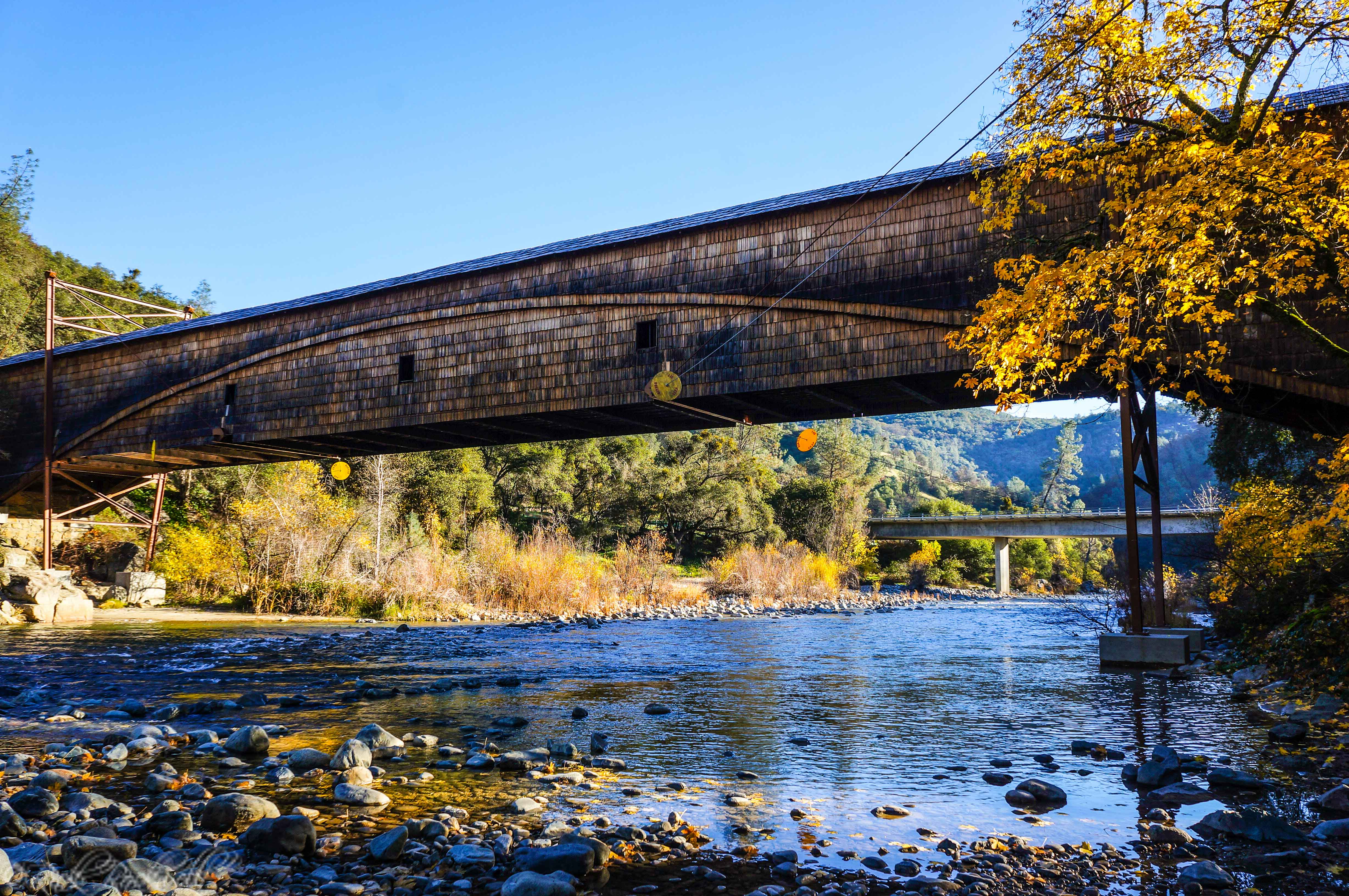 Photo of The Bridgeport Covered Bridge: a National Landmark spanning the South Yuba River