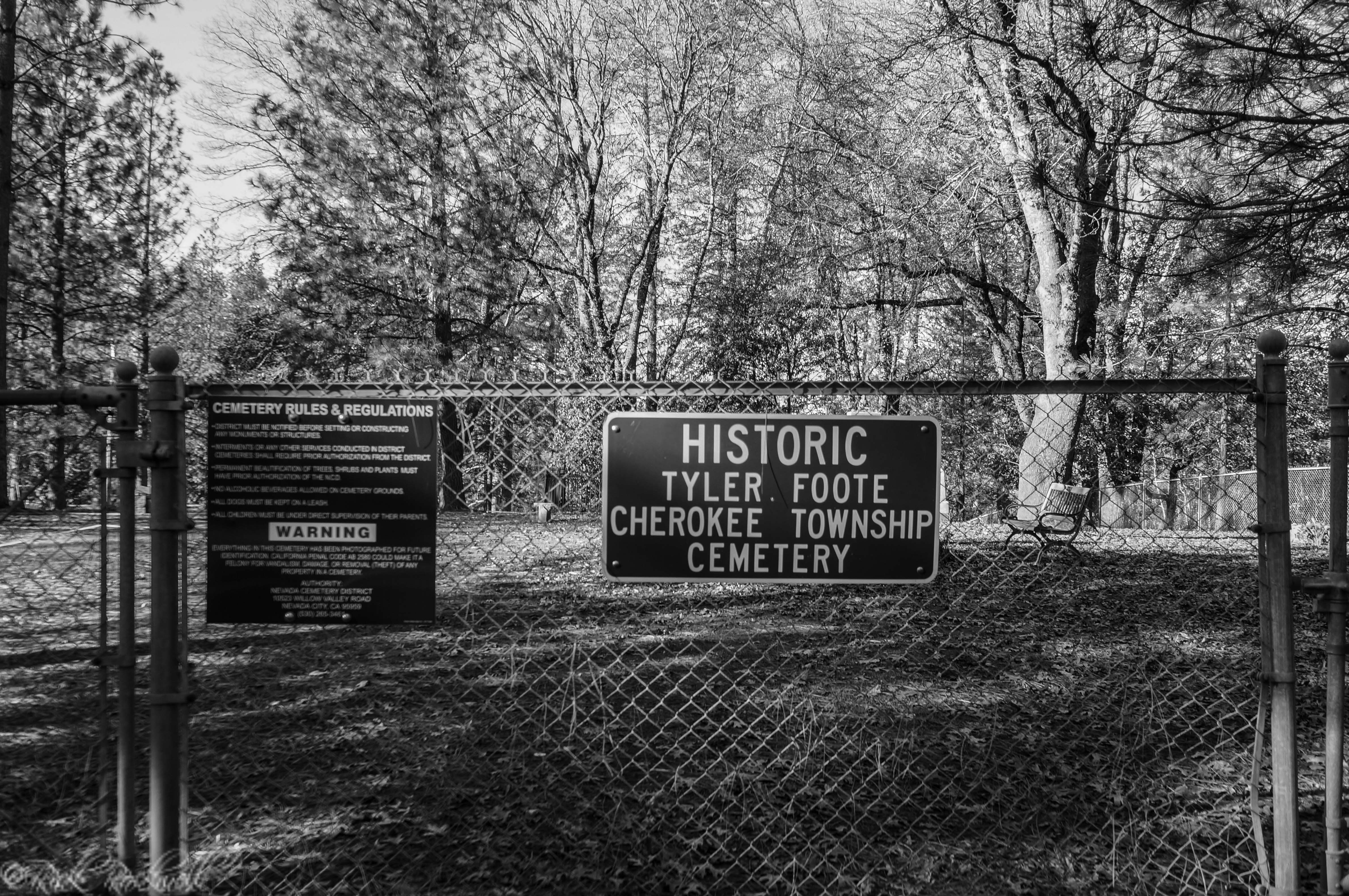 Photo of Nevada County's lost and forgotten town of Cherokee