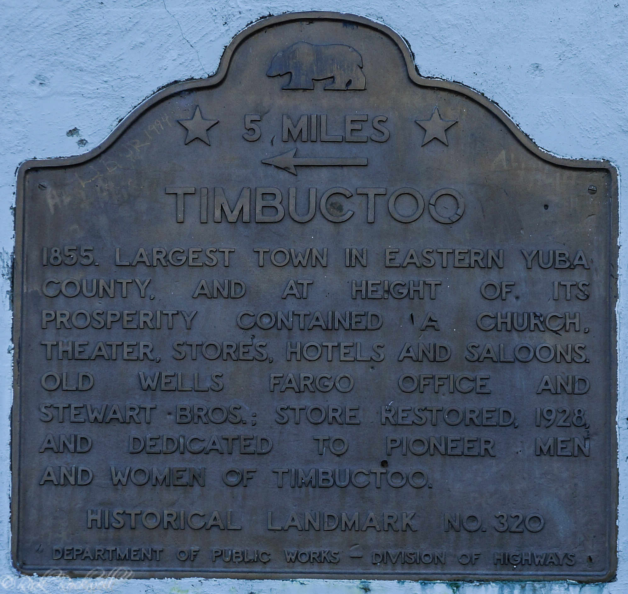 Photo of Timbuctoo: a once prominent town of Yuba County's distant past
