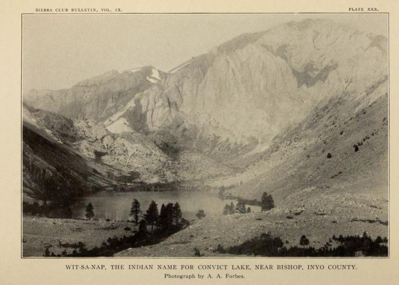 From the 1915 Sierra Bulletin