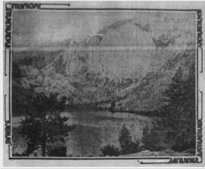 Pic of Convict Lake - Los Angeles Times Aug 18, 1905